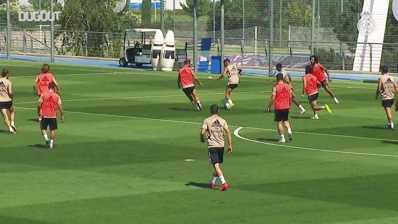Real Madrid inicia preparação para duelo contra o Getafe. DUGOUT