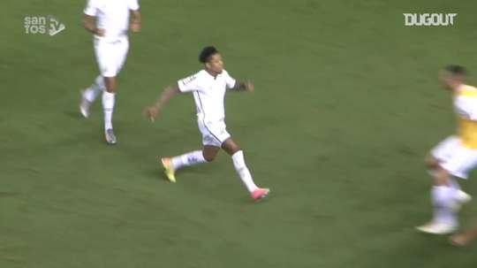 Le meilleur de Marinho à Santos en 2020-21. dugout