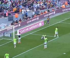 Un día mágico para Messi y los suyos. DUGOUT