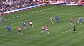 Los mejores goles del Chelsea ante el Southampton. Captura/DUGOUT