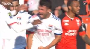 Leo Dubois got Lyon a point at L'Orient. DUGOUT