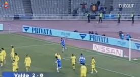 Valdo scored this goal for Espanyol. DUGOUT