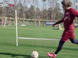 Felipe Gedoz assinou contrato com o Nacional no final de junho de 2020. DUGOUT