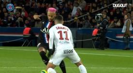 Neymar y Ronaldinho, en puro estado disfrutando. DUGOUT
