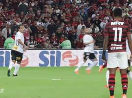 His best moments for Flamengo. DUGOUT