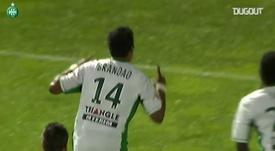 VIDÉO : les buts de Brandao contre Nice. Dugout