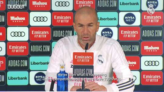 Zinedine Zidane: 'There are no easy competitions or matches'. DUGOUT