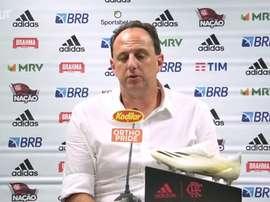 Rogério Ceni concedeu entrevista após vitória sobre o Palmeiras. DUGOUT