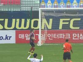 El brasileño André Luis debutó con el Daejeon Citizen surcoreano. Dugout