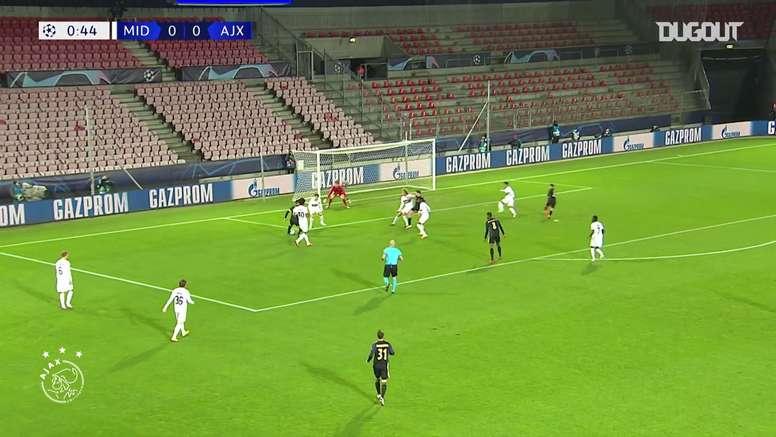 Antony e Tadic aiutano l'Ajax a trionfare in Europa. Dugout