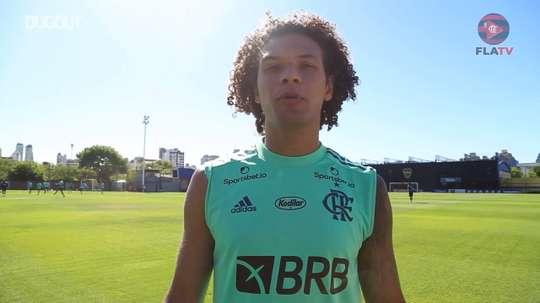 Willian Arão elogia Ceni e analisa duelo contra o Racing na Libertadores. DUGOUT