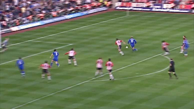 Chelsea have scored some quality goals against Southampton in the past. DUGOUT