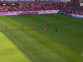 Le premier but de Breel Embolo avec le Borussia Mönchengladbach. Dugout