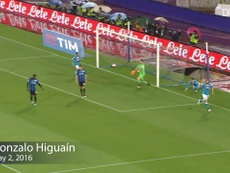 Napoli have scored some cracking goals versus Atalanta over the years. DUGOUT