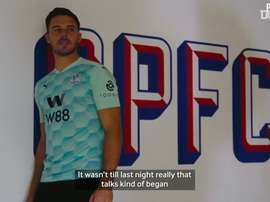 Jack Butland's first Palace interview. DUGOUT