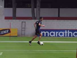 VÍDEO: la vuelta de Liga de Quito a los entrenamientos. Captura/Dugout