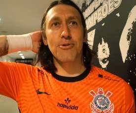 Cássio exalta grupo após vitória sobre o Palmeiras. DUGOUT
