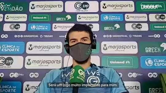Luiz Gustavo fala sobre jogo entre Goiás e Palmeiras. DUGOUT