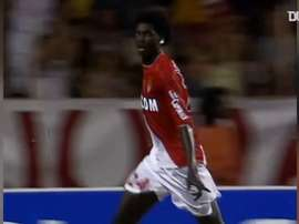 Adebayor was at Monaco between 2003 and 2006. DUGOUT