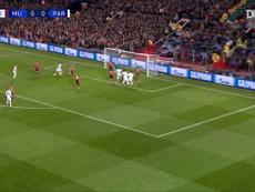 Les deux passes décisives d'Angel Di Maria face à Manchester United en 2019. Dugout