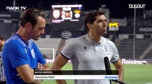 Técnico que classificou o PAOK atuava antes no Benfica. DUGOUT