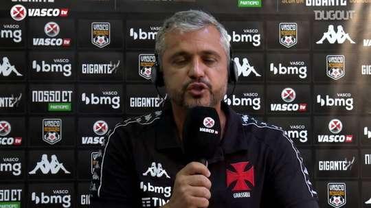 Alexandre Grasseli falou após derrota por 4 a 1 para o Ceará. DUGOUT