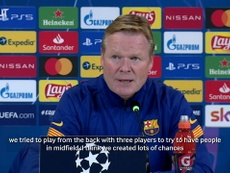 Koeman praised his side. DUGOUT