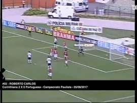 Roberto Carlos hizo historia. DUGOUT