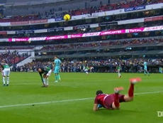 Marchesin did a scorpion kick of his own for Club America back in 2018. DUGOUT