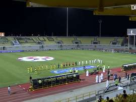 Al-Ittihad Kalba 0-3 Shabab Al-Ahli. DUGOUT