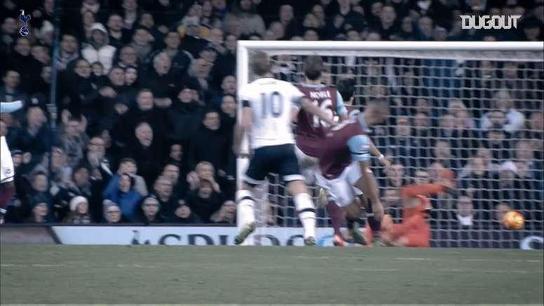 Kane nunca tiene piedad contra el West Ham. DUGOUT