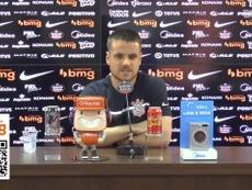 Ramiro fala sobre oportunidades no Corinthians. DUGOUT