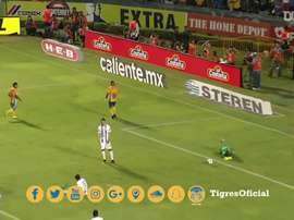 Gignac's lovely backheel allowed Sosa to score. DUGOUT