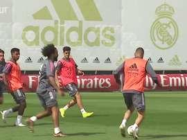 Real Madrid segue preparação para duelo contra o Betis na LaLiga. DUGOUT