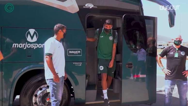 Goiás teve nove jogadores com resultado positivo para Covid-19. DUGOUT