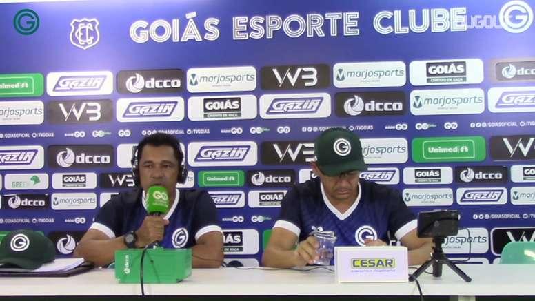 Glauber Ramos comandará o Goiás com Augusto César contra o Palmeiras. DUGOUT