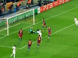 Los blancos han celebrado no pocos goles en el Camp Nou. Dugout