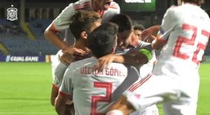 Ferran Torres scored both goals as Spain beat Portugal 2-0 in the Euro U19 final. DUGOUT