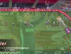 Flamengo beat Junior Barranquilla at Maracanã. DUGOUT