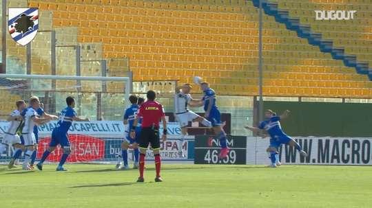 Sampdoria's best last goals at Parma. DUGOUT