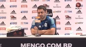 Márcio Tannure analisa situação física de Rodrigo Caio. DUGOUT