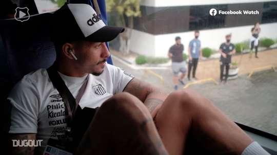 Gols e bastidores da vitória do Santos sobre o Boca Juniors. DUGOUT
