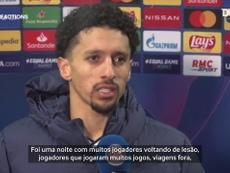 Marquinhos falou após a partida que recoloca o time na briga por uma vaga nas oitavas. DUGOUT