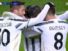 La Juve pasó por encima del Dinamo. Dugout