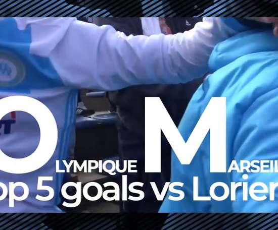 TOP 5 buts Marseille vs Lorient. DUGOUT