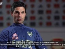 Mikel Arteta falando sobre como a chegada de Thomas Partey vai agregar ao Arsenal. DUGOUT