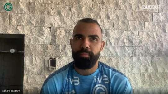 Sandro fala sobre ansiedade de jogar Brasileirão após 11 anos. DUGOUT