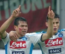 Lozano's best Napoli moments. DUGOUT
