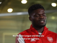 Thomas Partey keen to emulate the Premier League's top Ghanaian players. DUGOUT