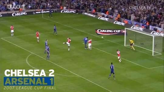 VIDÉO : les victoires de Chelsea en finale contre Arsenal. Dugout